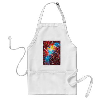 abstract contemporary colors No 18 Standard Apron