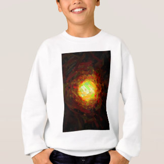 abstract contemporary colors No 24 Sweatshirt