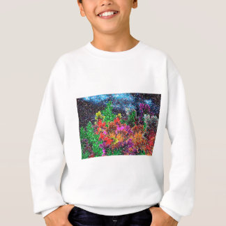abstract contemporary colors No 27 Sweatshirt