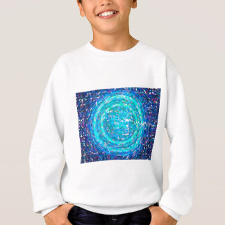 abstract contemporary colors No 38 Sweatshirt