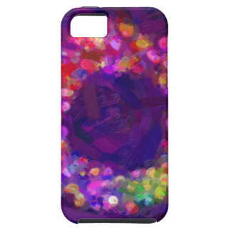 abstract contemporary colors No 41 iPhone 5 Covers