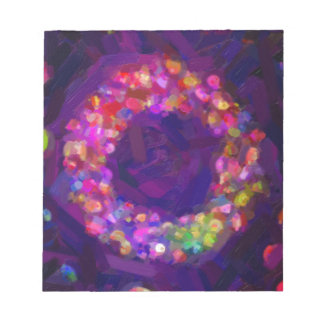 abstract contemporary colors No 41 Notepad