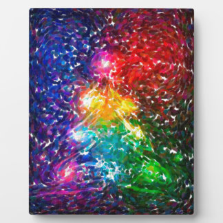 abstract contemporary colors No 43 Plaque