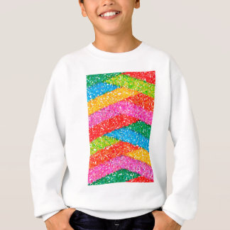 abstract contemporary colors No 45 Sweatshirt