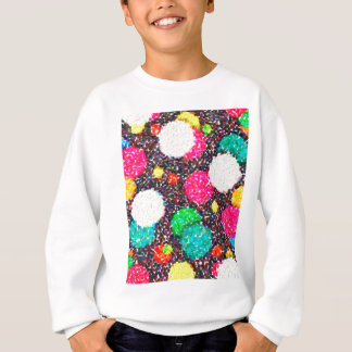 abstract contemporary colors No 47 Sweatshirt