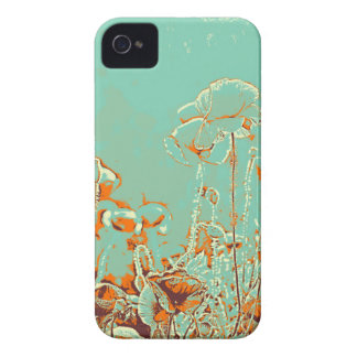 abstract contemporary colors No 50 poppies iPhone 4 Cover
