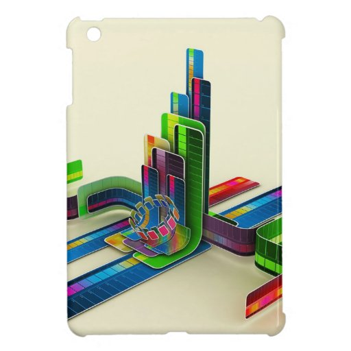 Abstract Cool Access The Colours Case For The iPad Mini