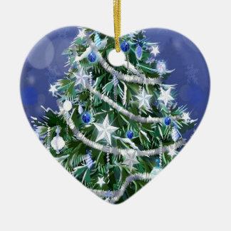 Abstract Cool Christmas Tree Times Christmas Tree Ornament