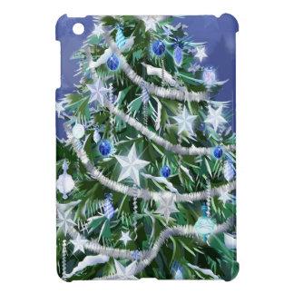 Abstract Cool Christmas Tree Times iPad Mini Covers