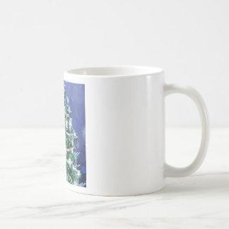 Abstract Cool Christmas Tree Times Mug