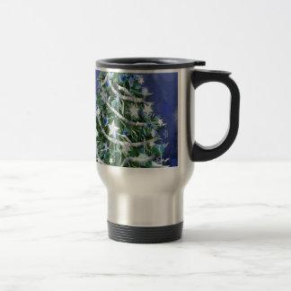 Abstract Cool Christmas Tree Times Coffee Mug