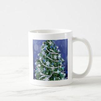 Abstract Cool Christmas Tree Times Coffee Mugs