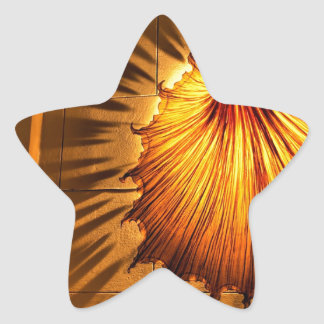 Abstract Cool Dress Of Light Star Sticker