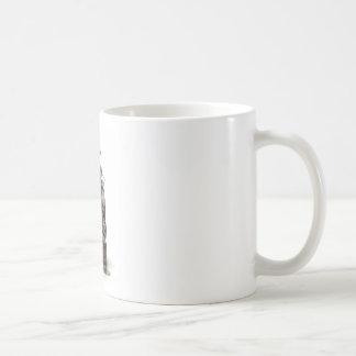 Abstract Cool Engine Heart Machine Coffee Mugs