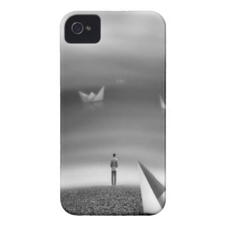 Abstract Cool Folded Dreams Case-Mate iPhone 4 Case