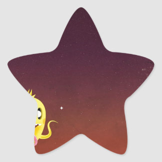 Abstract Cool Ghoulie Ghouls Star Stickers