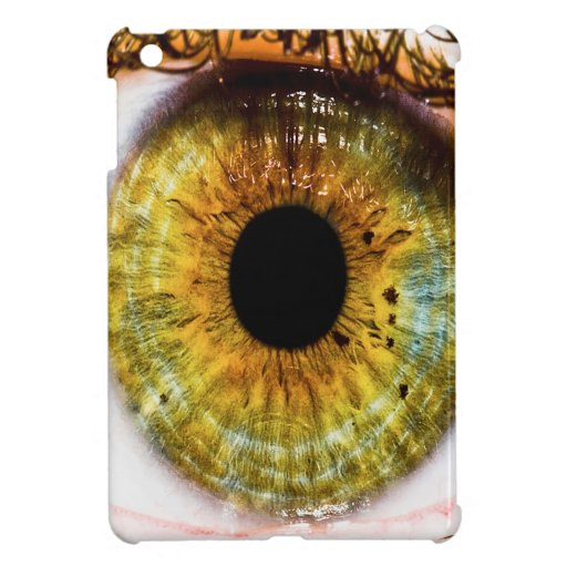 Abstract Cool Green Eye Cover For The iPad Mini