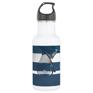 Abstract Cool Lady Bird Water Lamp 532 Ml Water Bottle