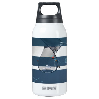 Abstract Cool Lady Bird Water Lamp Insulated Water Bottle