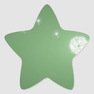 Abstract Cool Lots Of Wishes Star Sticker