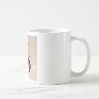 Abstract Cool Lovers Heart Coffee Mugs