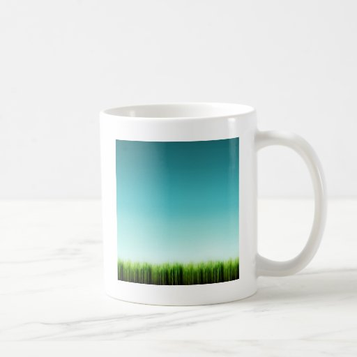 Abstract Cool Plenty Of Grass Mug