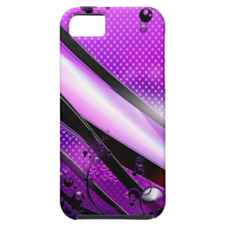 Abstract Cool Purple Revolver Case For The iPhone 5