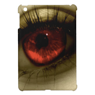 Abstract Cool Red Eye iPad Mini Cover