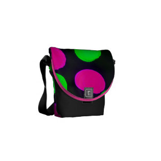 Abstract Courier Bag