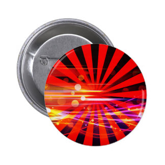 Abstract Crazy Light Ray Star Burst Pattern Buttons