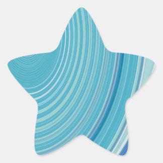 Abstract Creation Star Sticker