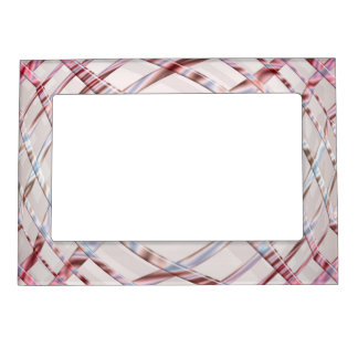 Abstract creative dynamic texture. magnetic picture frame