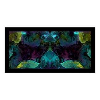 Abstract Creature Posters