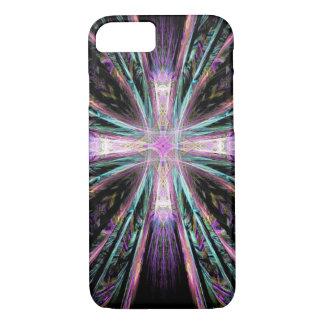Abstract cross art iPhone 7 case