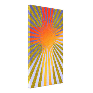 Abstract Cross Contemporary Canvas Easter Wall Art Canvas Print
