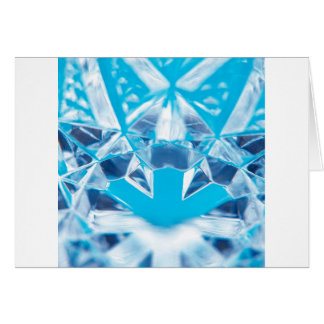 Abstract Crystal Reflect Break Greeting Cards