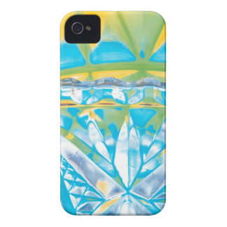 Abstract Crystal Reflect Celebrate iPhone 4 Covers