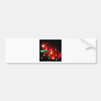 Abstract Crystal Reflect Decorations Bumper Sticker