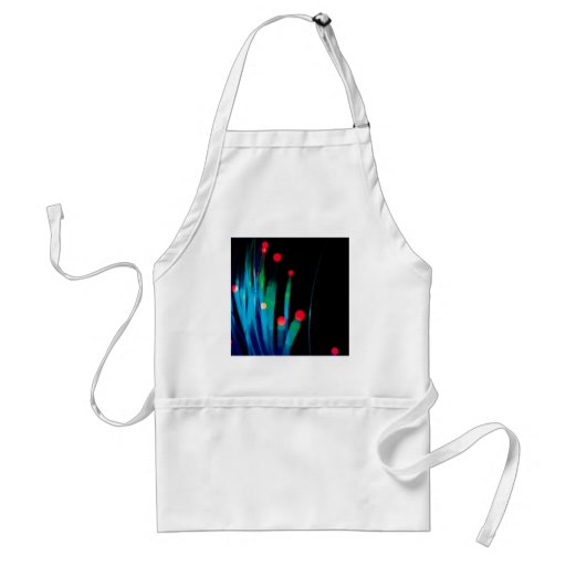 Abstract Crystal Reflect Grass Apron