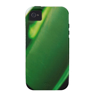 Abstract Crystal Reflect Green Case For The iPhone 4