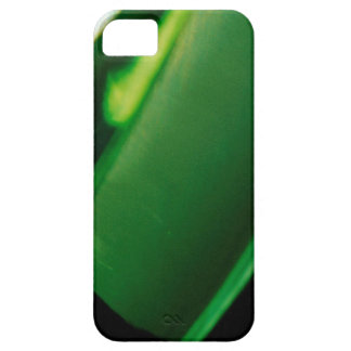 Abstract Crystal Reflect Green iPhone 5 Cases