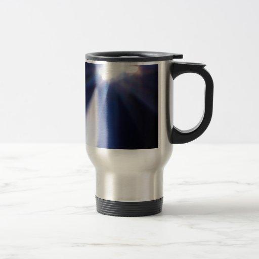 Abstract Crystal Reflect Hole Mug