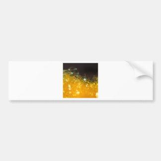 Abstract Crystal Reflect Honey Bumper Sticker