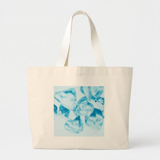 Abstract Crystal Reflect Ice Tote Bags