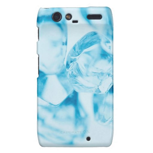 Abstract Crystal Reflect Ice Droid RAZR Cases