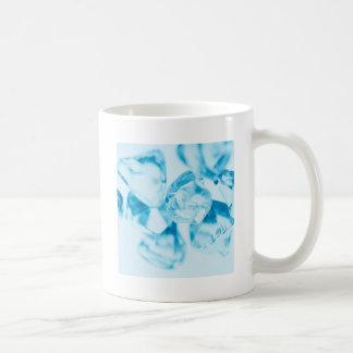 Abstract Crystal Reflect Ice Coffee Mugs