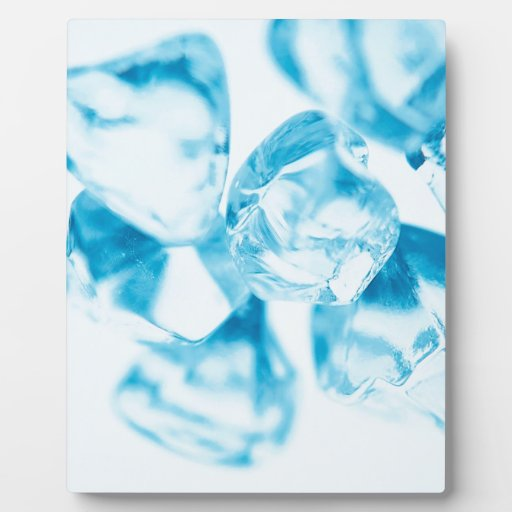 Abstract Crystal Reflect Ice Plaque