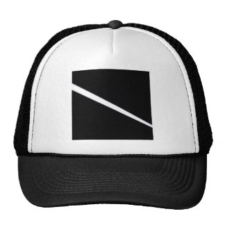 Abstract Crystal Reflect Line Hat