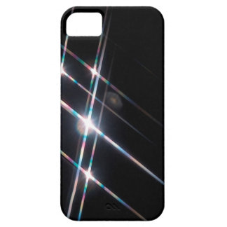 Abstract Crystal Reflect Matrix iPhone 5 Cover
