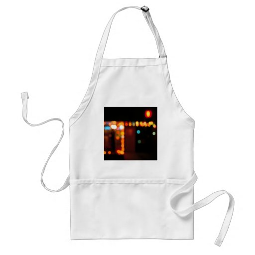 Abstract Crystal Reflect Nightlife Aprons